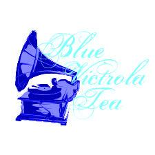 Blue Victrola Tea logo