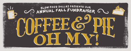 Coffee and Pie, Oh My!! Fall Fundraiser