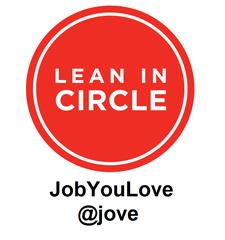 Jove • A Lean In Circle logo