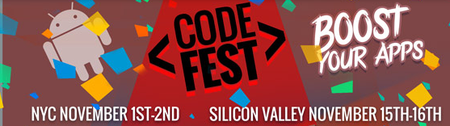 INTEL® DEVELOPER ZONE CODEFEST FOR ANDROID NYC