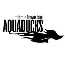 Brown's Lake Aquaducks logo