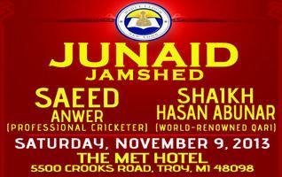 Junaid Jamshed @ Troy, MI - Saturday, November 9, 2013