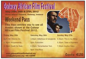 Galway African Film Festival - Festival Weekend Pass