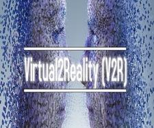 Virtual2Reality logo