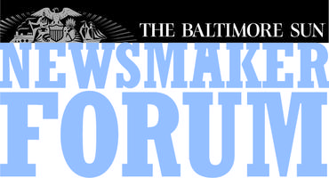 The Baltimore Sun Newsmaker Forum: The Future of...