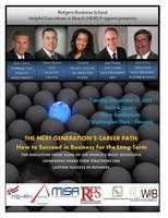THE NEXT GENERATION'S CAREER PATH: How to Succeed in...
