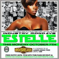 Industry Monday Night @Havana Club Hosted by Estelle