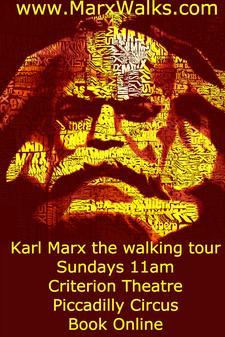 Marx Walks logo