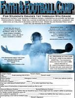 FAITH & FOOTBALL CAMP and FAITH & CHEER CAMP