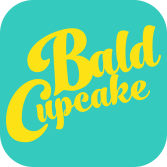 The Bald Cupcake  logo