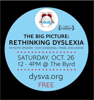 Decoding Dyslexia Day in RVA!  The Big Picture HBO...