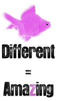 DIFFERENT=AMAZING