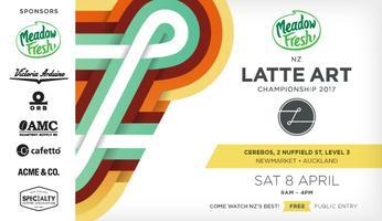 Meadow Fresh NZ Latte Art Championship 2017