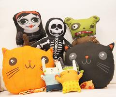 Kids' Sewing: Halloween Plushies