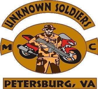 Unknown Soldiers MC  Petersburg VA logo