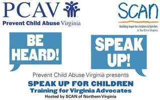 Speak Up for Children Training for Virginia Advocates
