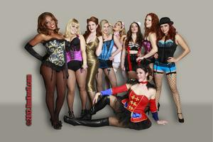The Dollface Dames bring BURLESQUE to Magicopolis