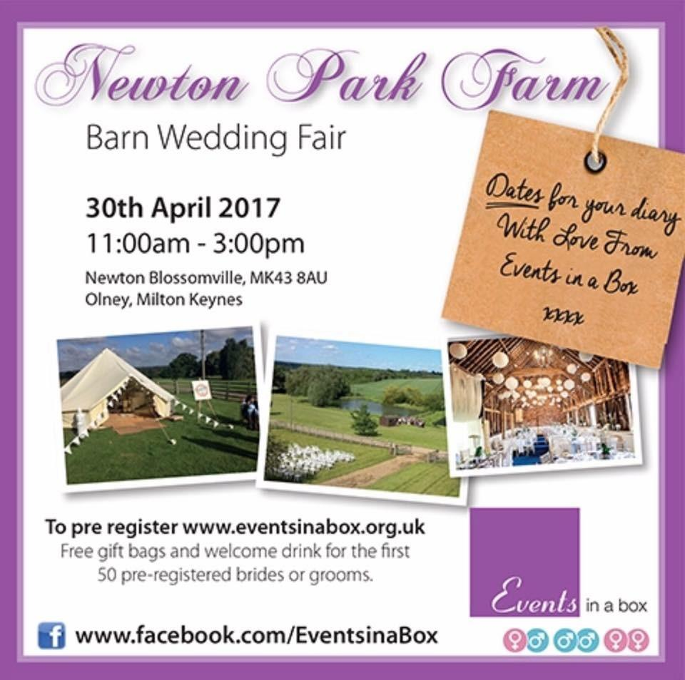 Newton Park Farm Barn Wedding Fair Tickets, Sun, 30 Apr
