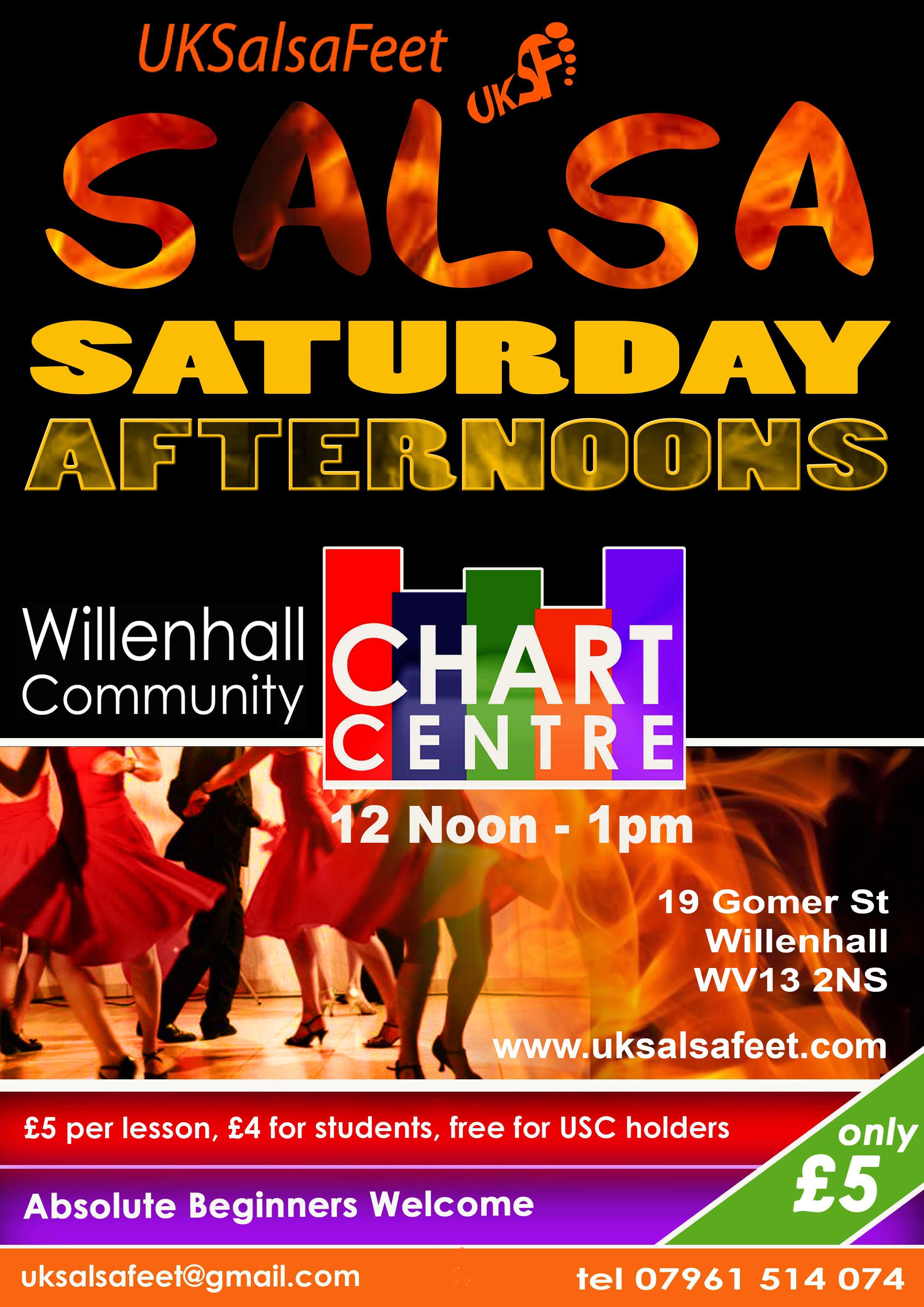 Willenhall Salsa Lessons