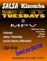 Salsa & Kizomba lesson In Walsall