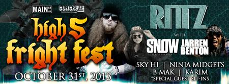 High 5 Fright Fest: RITTZ | SNOW THA PRODUCT | JARREN...
