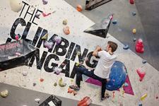 The Climbing Hangar logo