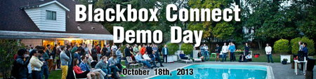 Blackbox Connect October '13 Demo Day