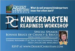 DCS Kindergarten Workshop