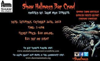 This Is Shawlloween: 3rd Annual Shaw Halloween Bar...