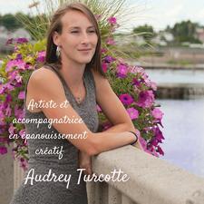 Audrey Turcotte, art et épanouissement créatif logo