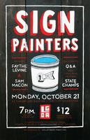 Sign Painters Louisville Premiere