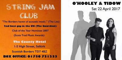 O'HOOLEY & TIDOW at STRING JAM CLUB