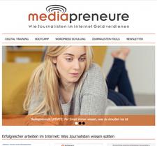 Mediapreneure GmbH logo