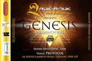 Genesis - The Launch Party!