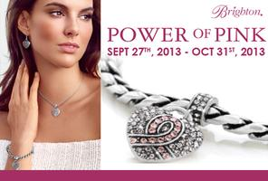 POWER OF PINK campaign with Brighton Collectibles!