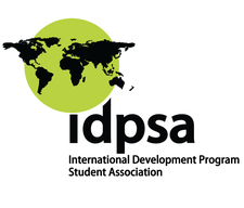 International Development Program Student Association (IDPSA) logo