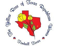 The Yellow Rose of Texas Republican Women logo