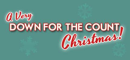 A Very Down for the Count Christmas logo
