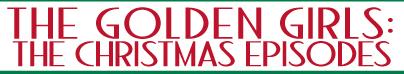 Golden Girls Christmas Show: Sunday, Dec. 7, 2014 @ 7pm