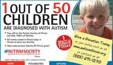 The Autism Society of Illinois  logo