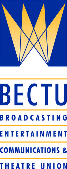 BECTU - the media and entertainment union logo