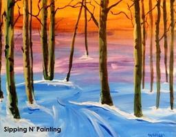 Sip n' Paint Winter Glow: Saturday December 28th,...