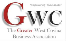 The Greater West Covina Business Association (GWCBA) logo