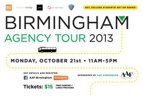 2013 Birmingham Agency Tour