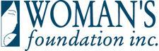 Woman's Foundation Inc.  logo