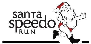Chicago Santa Speedo Run 2013