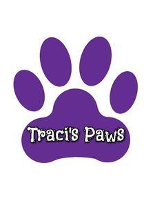 Traci's Paws, Inc. logo