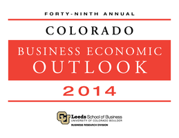 2014 Colorado Business Economic Outlook Forum
