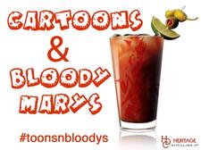 Cartoons and Bloody Marys: Festival of Animation logo