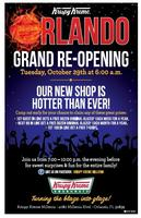Krispy Kreme Millenia Grand Re-Opening